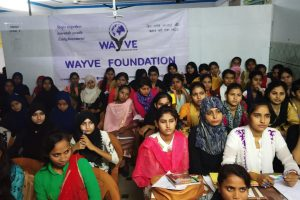 Workshop for Muslim girls on leadership building in Fatehpur (U.P.)