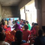 Workshop for Dalit girls on leadership building in Kanpur Dehat (U.P).