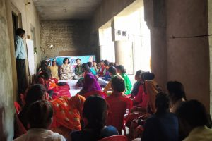 Workshop for Dalit girls on leadership building in Kanpur Dehat (U.P).