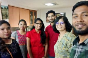 TISS Students Field Visit