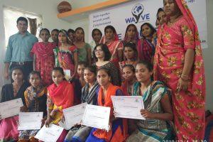 Workshop with tribal girls in Chhota Udepur, Gujarat
