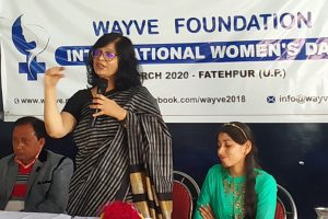 International Women's Day Convention in Fatehpur