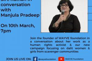 YouTube & Facebook live with our founder & human rights activist Manjula Pradeep & Raihan.