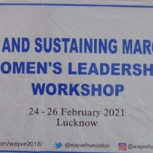 Lucknow Workshop February 2021